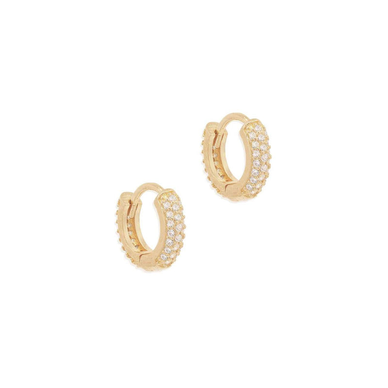 Shop Gold Light Catcher Hoops at Rose St Trading Co