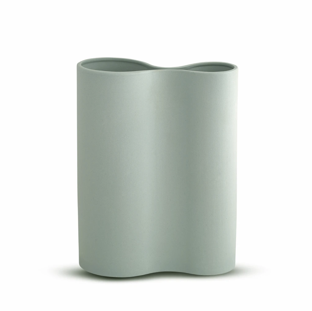 Shop Smooth Infinity Vase Blue (M) at Rose St Trading Co