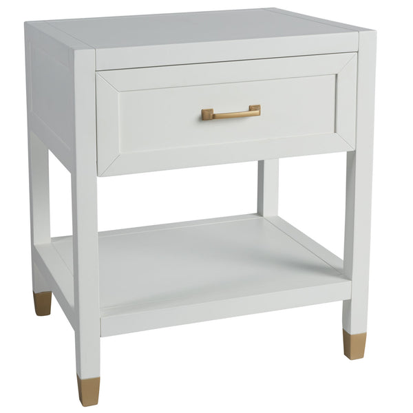 Shop Bedside Table Nantucket at Rose St Trading Co