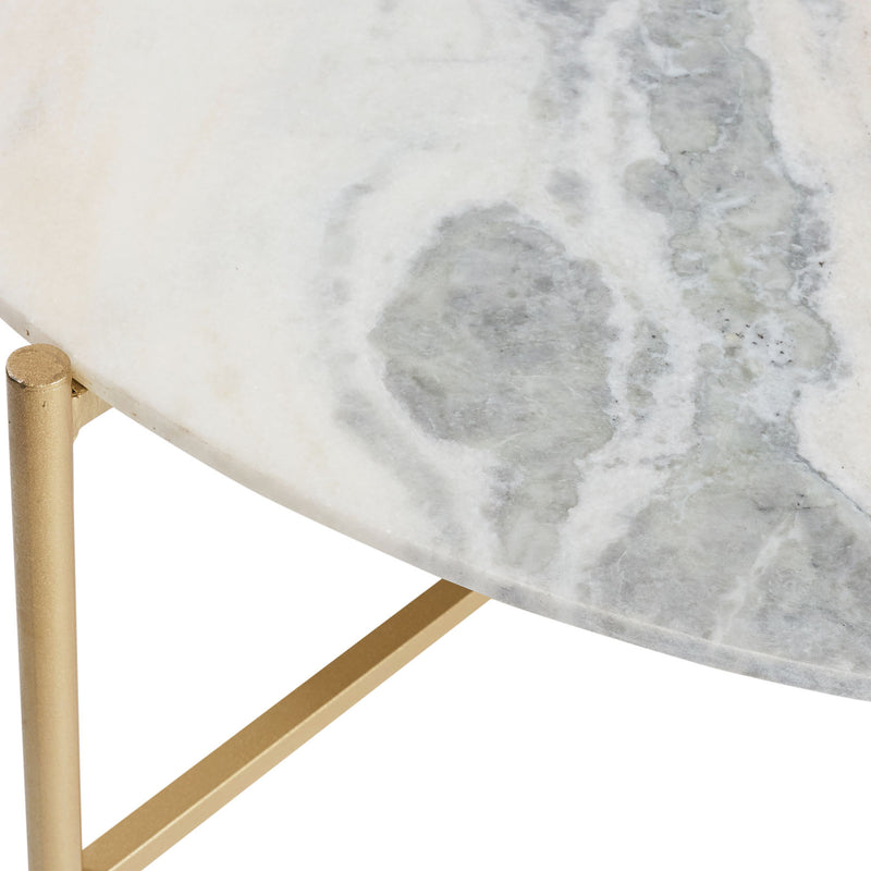 Shop Nantucket Marble Coffee Table at Rose St Trading Co