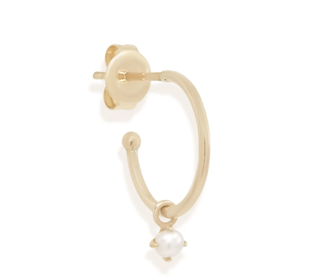 Shop 14k Gold Tranquility Earring - Single at Rose St Trading Co