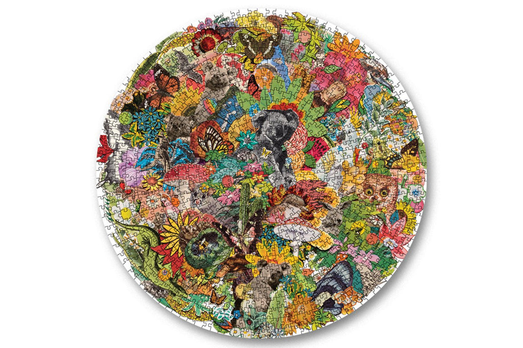 Shop 1000 PIECE PUZZLE (ROUND) - ALL AROUND OZ at Rose St Trading Co