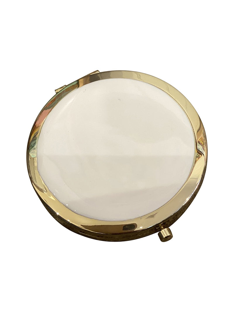Shop Compact Mirror - Pastel Pink at Rose St Trading Co
