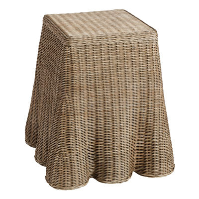 Shop Rattan Side Table at Rose St Trading Co