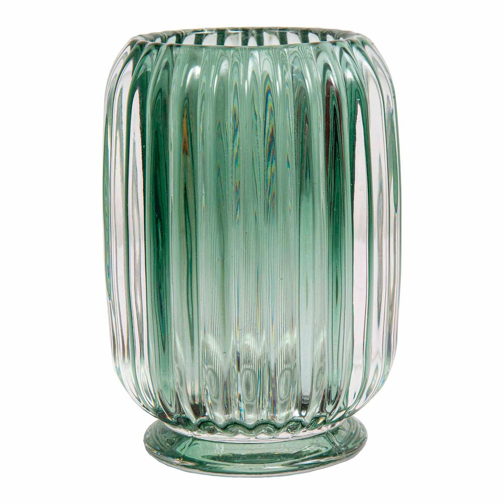 Shop Tea Light Tall Candle Holder | Emerald at Rose St Trading Co