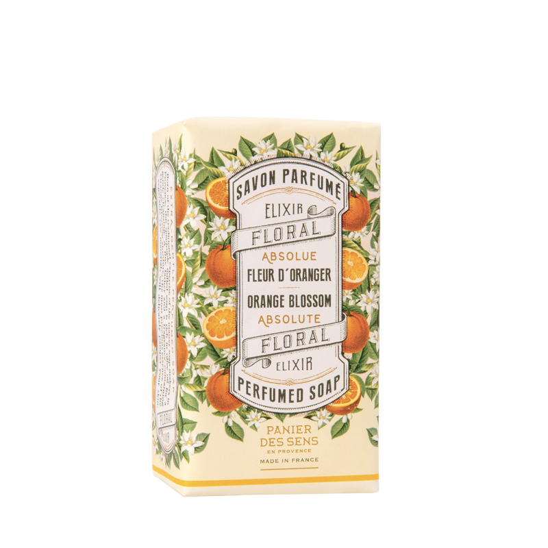 Shop Orange Blossom Wrapped Soap at Rose St Trading Co