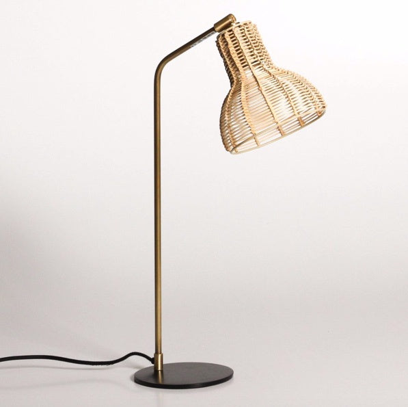Shop Rattan Table Lamp at Rose St Trading Co