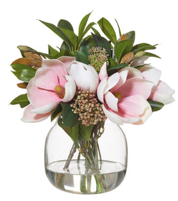 Shop Magnolia Bouquet in Adina Vase 34cm at Rose St Trading Co