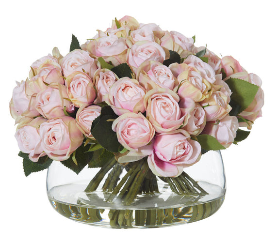 Shop Rose Mini Bouquet 21cm Pink at Rose St Trading Co