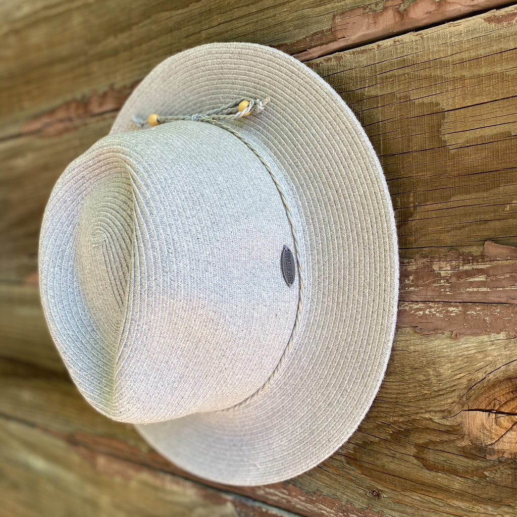 Shop Flexibraid Avoca Fedora | Soft Grey at Rose St Trading Co