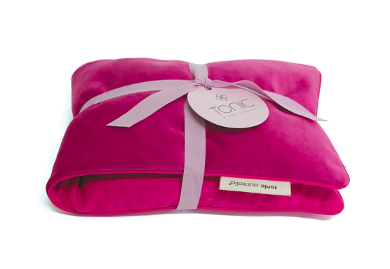 Shop Luxe Velvet Heat Pillow | Berry at Rose St Trading Co