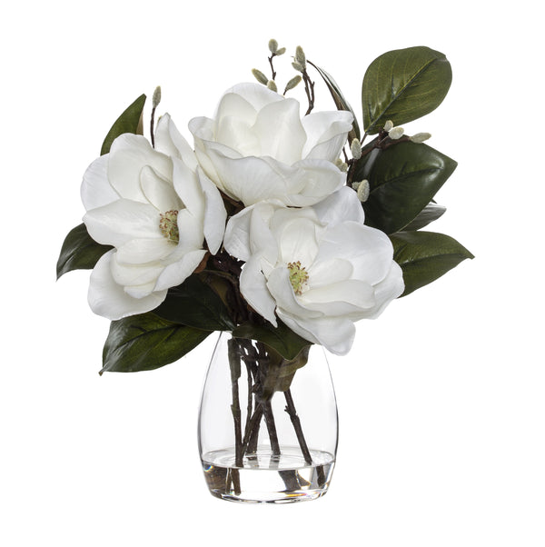 Shop Magnolia Mix | Evelyn Vase 43cm White at Rose St Trading Co