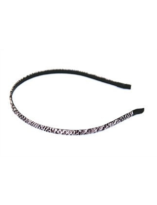 Shop Alice Head Band | Thin Grey Snake at Rose St Trading Co