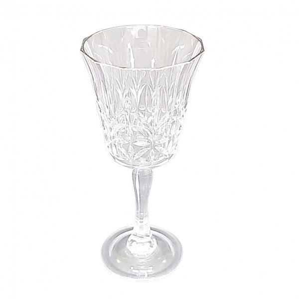 Shop Acrylic Crystal Cut Wine Glass at Rose St Trading Co