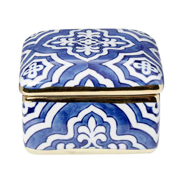 Shop Tangier Square Box with Lid at Rose St Trading Co