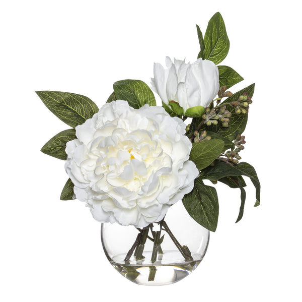 Shop Peony Mix Sphere Vase - 28cm at Rose St Trading Co