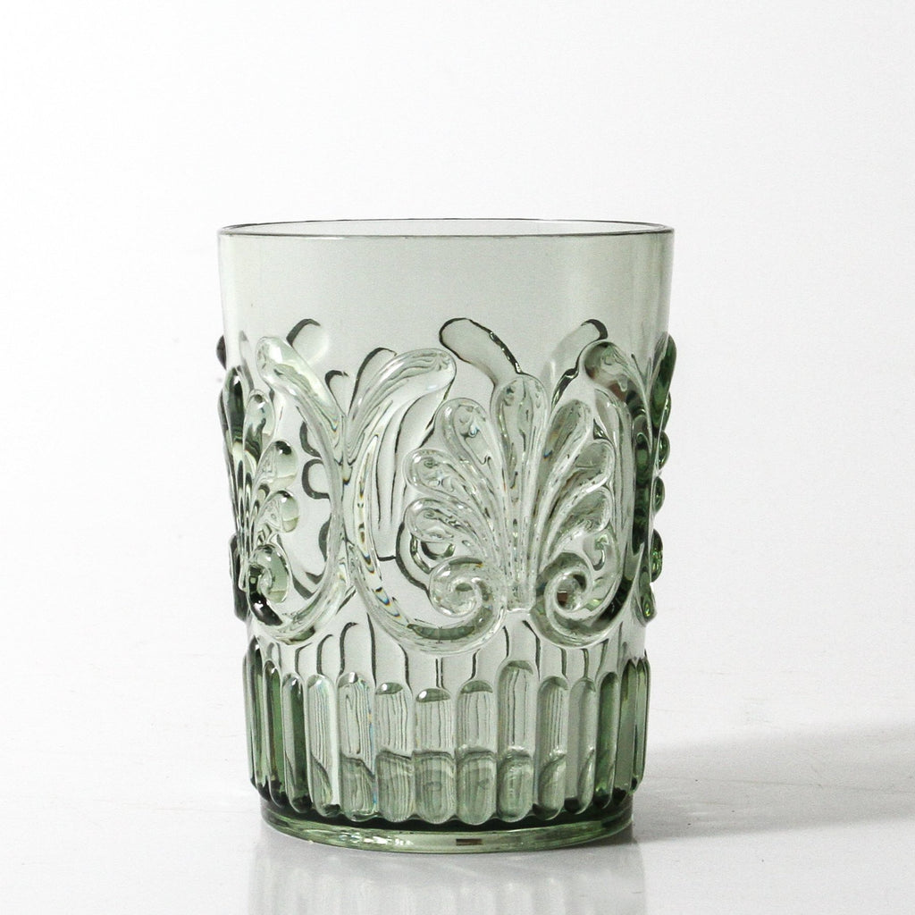 Shop Acrylic Tumbler Scollop | Sage Green at Rose St Trading Co