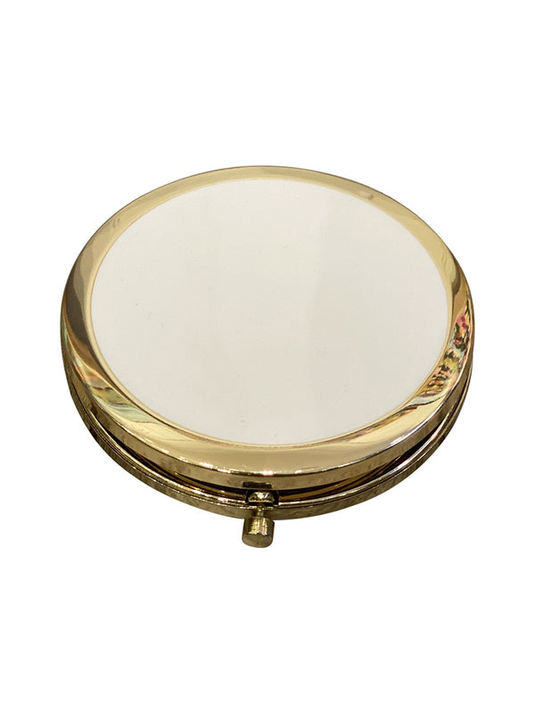 Shop Compact Mirror - Pastel White at Rose St Trading Co