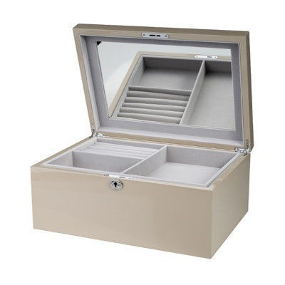Shop Jewellery Box - Taupe Large at Rose St Trading Co