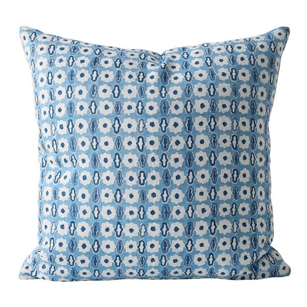Shop Pahari Riviera Linen Cushion at Rose St Trading Co