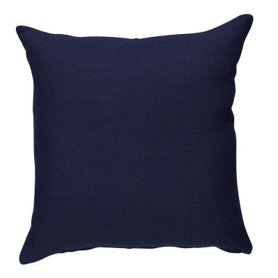 Shop Navy Linen Cushion - 50x50cm at Rose St Trading Co