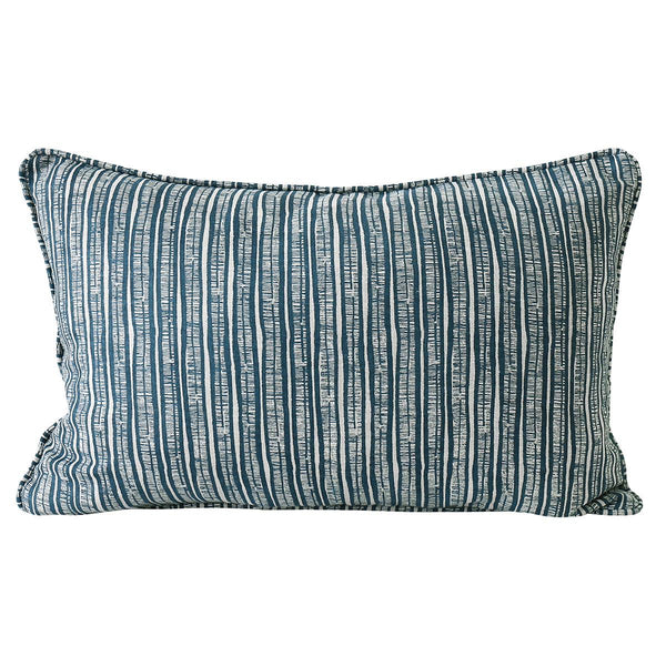Shop Pilu Denim Linen Cushion at Rose St Trading Co