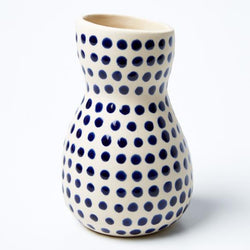 Shop Saturday Vase | Blue Mini Spot at Rose St Trading Co