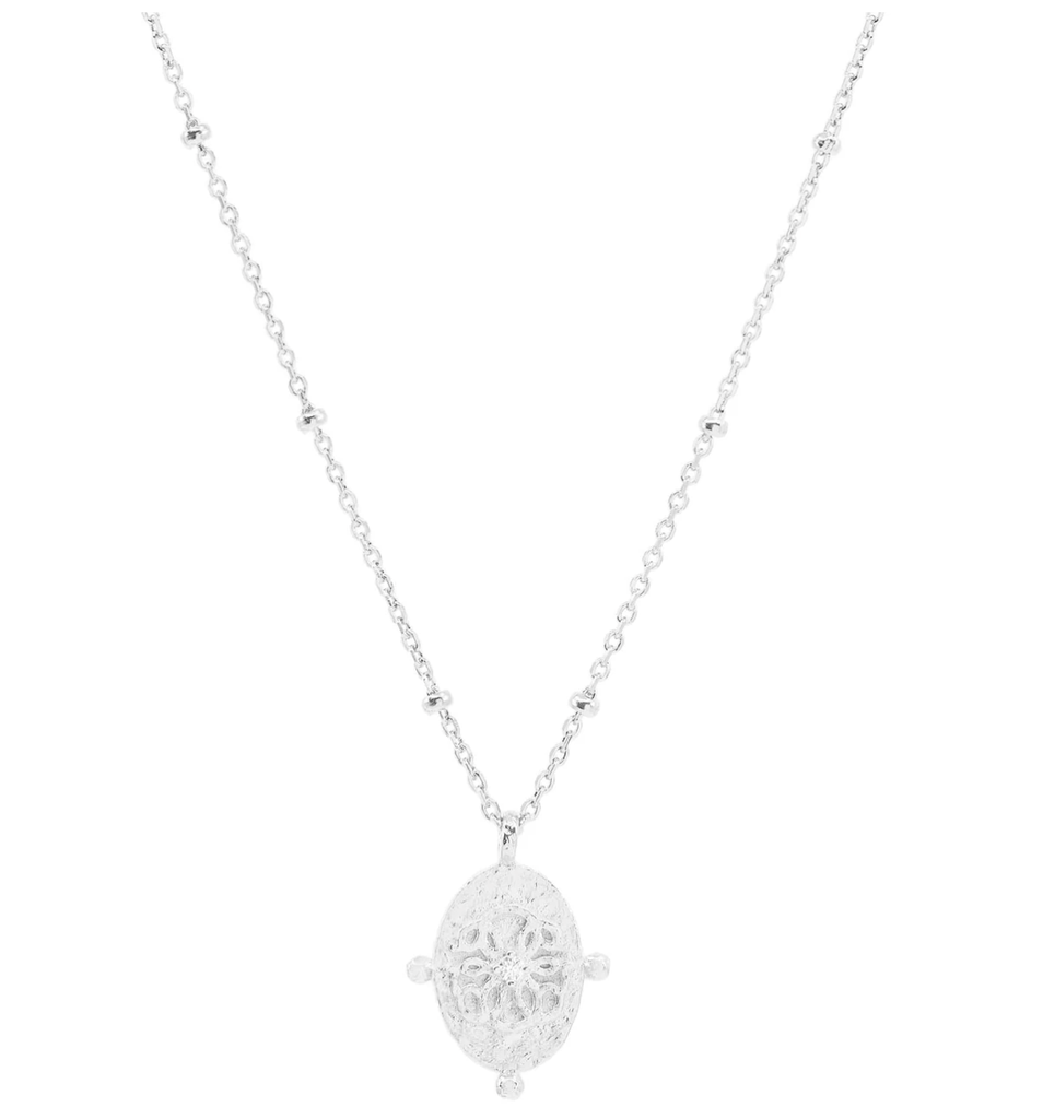 Shop Silver Path of Life Necklace at Rose St Trading Co