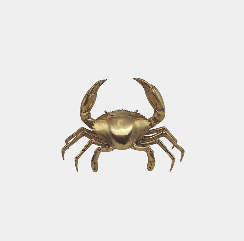 Shop Brass Crab | Medium at Rose St Trading Co