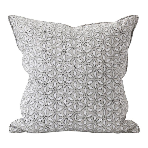 Shop Hanami Chalk Linen Cushion | 50x50cm at Rose St Trading Co