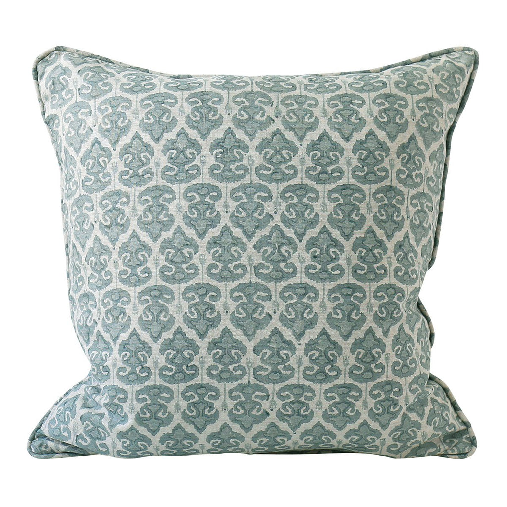 Shop Zadar Celadon Linen Cushion at Rose St Trading Co