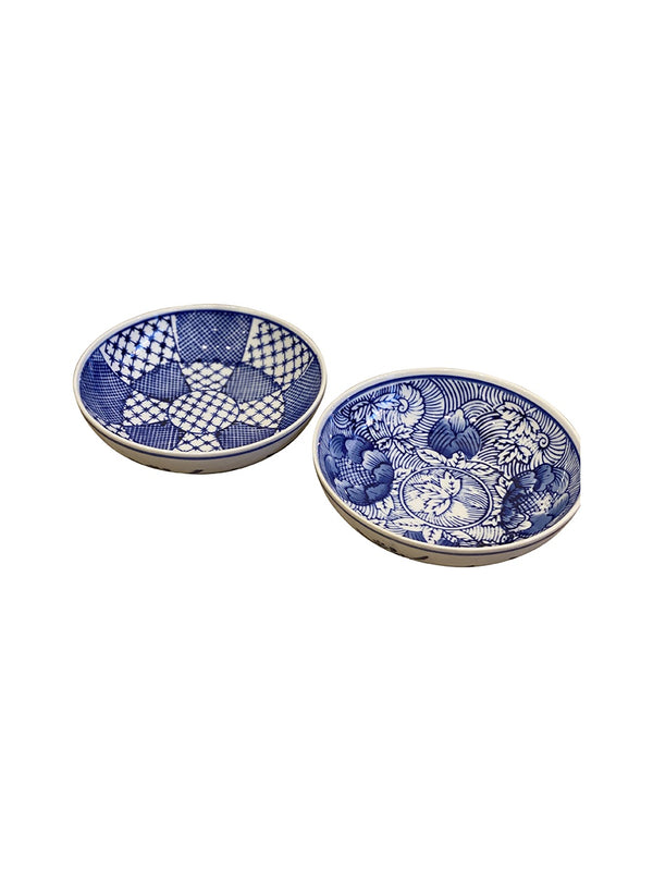 Shop Blue and White Trinket Plate at Rose St Trading Co