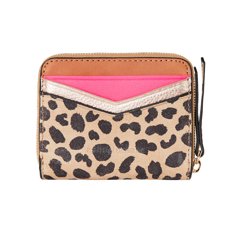 Shop Alexis Zip Purse - Vintage Tan / Spot Suede at Rose St Trading Co