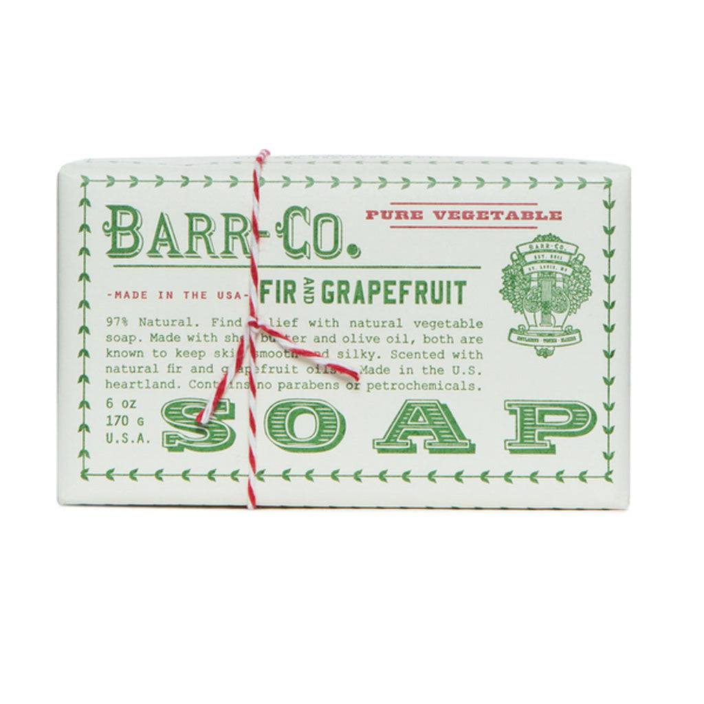 Shop Barr-Co Fir & Grapefruit Soap at Rose St Trading Co