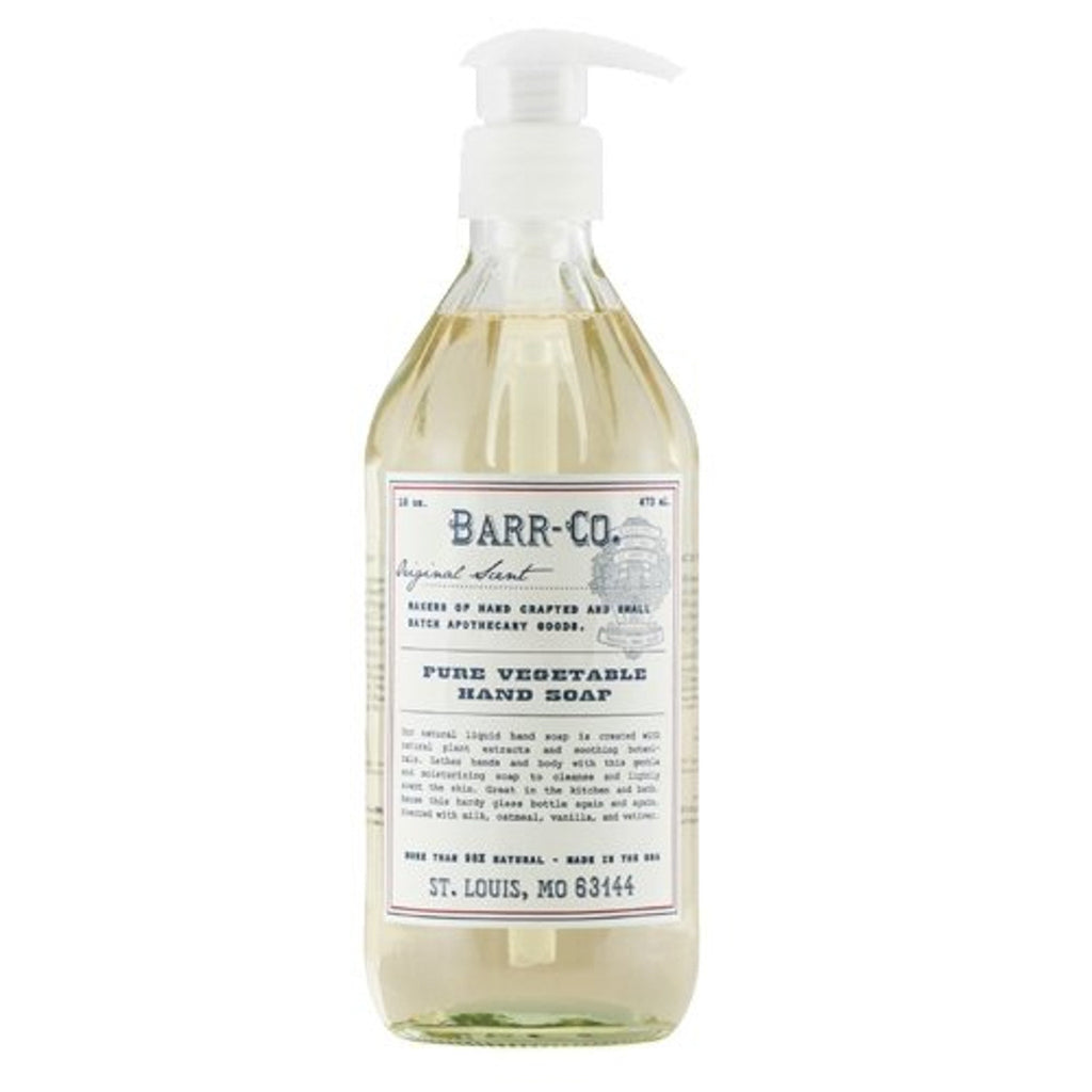Shop Barr Co Liquid Hand Soap at Rose St Trading Co