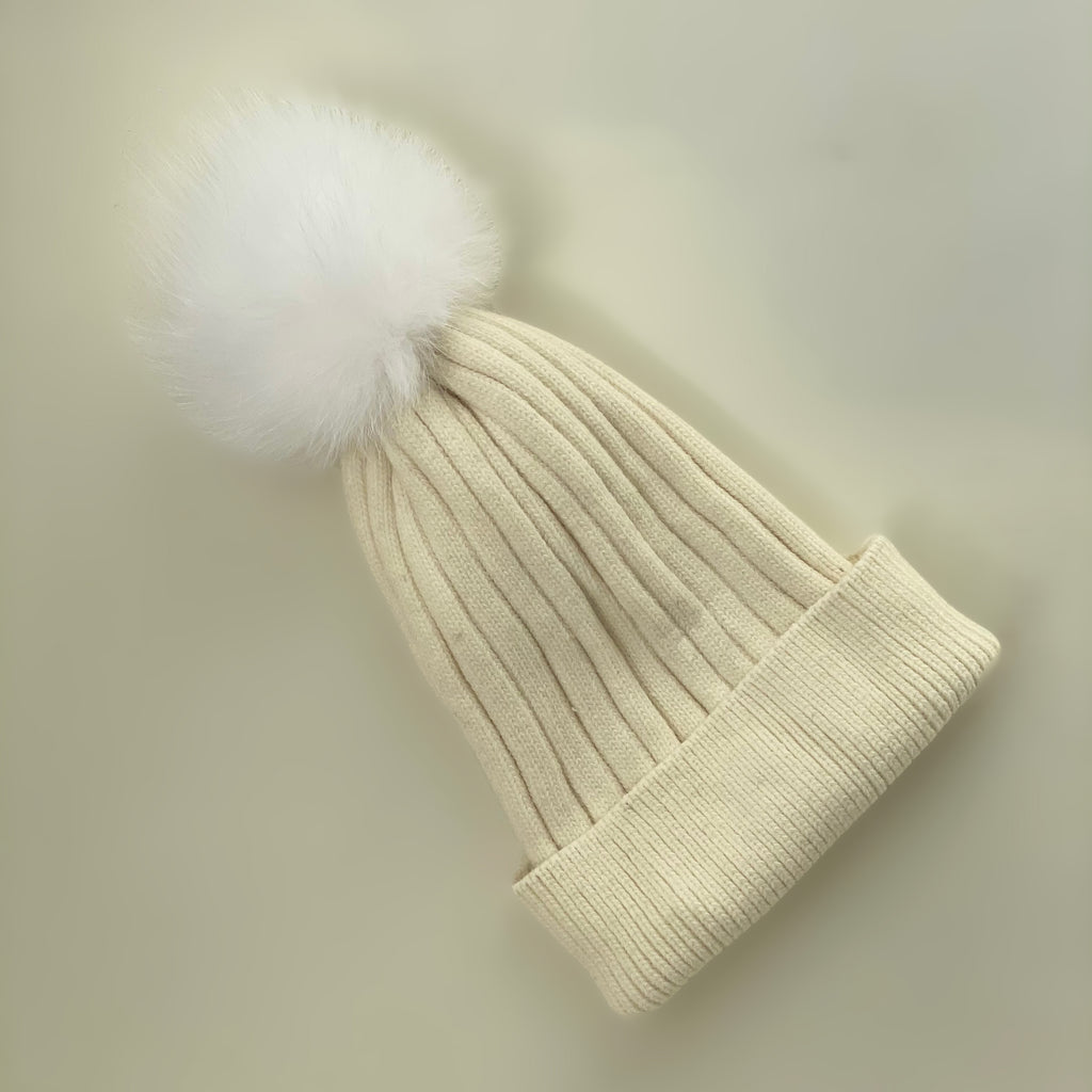 Shop Ribbed Beanie | Cream at Rose St Trading Co
