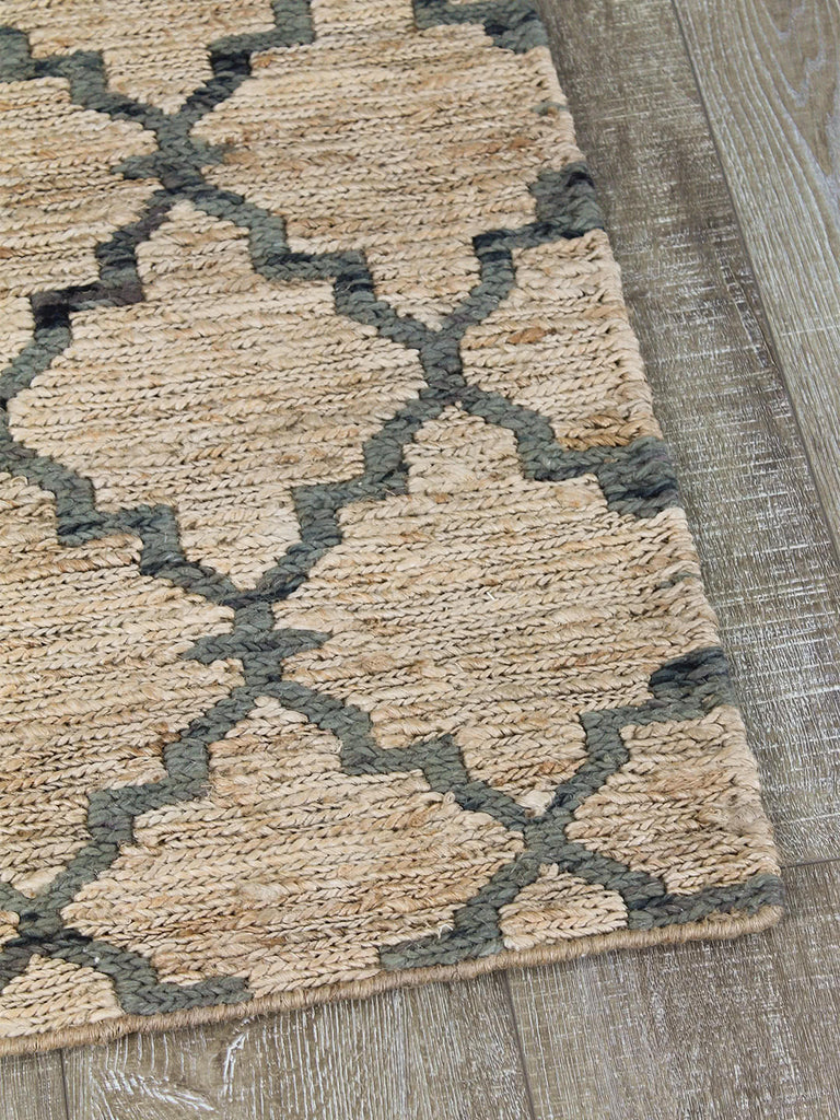 Shop Rug | Bengali Natural/Denim at Rose St Trading Co