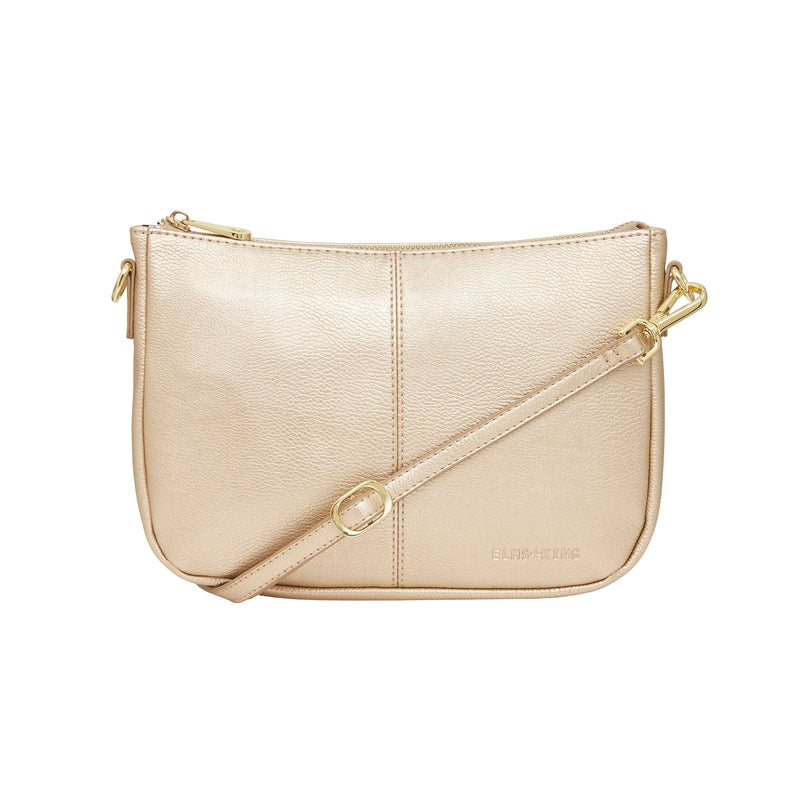 Shop Small Bowery Shoulder Bag | Light Gold at Rose St Trading Co
