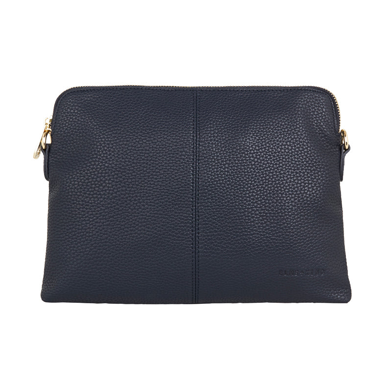 Shop Double Bowery Clutch | French Navy at Rose St Trading Co