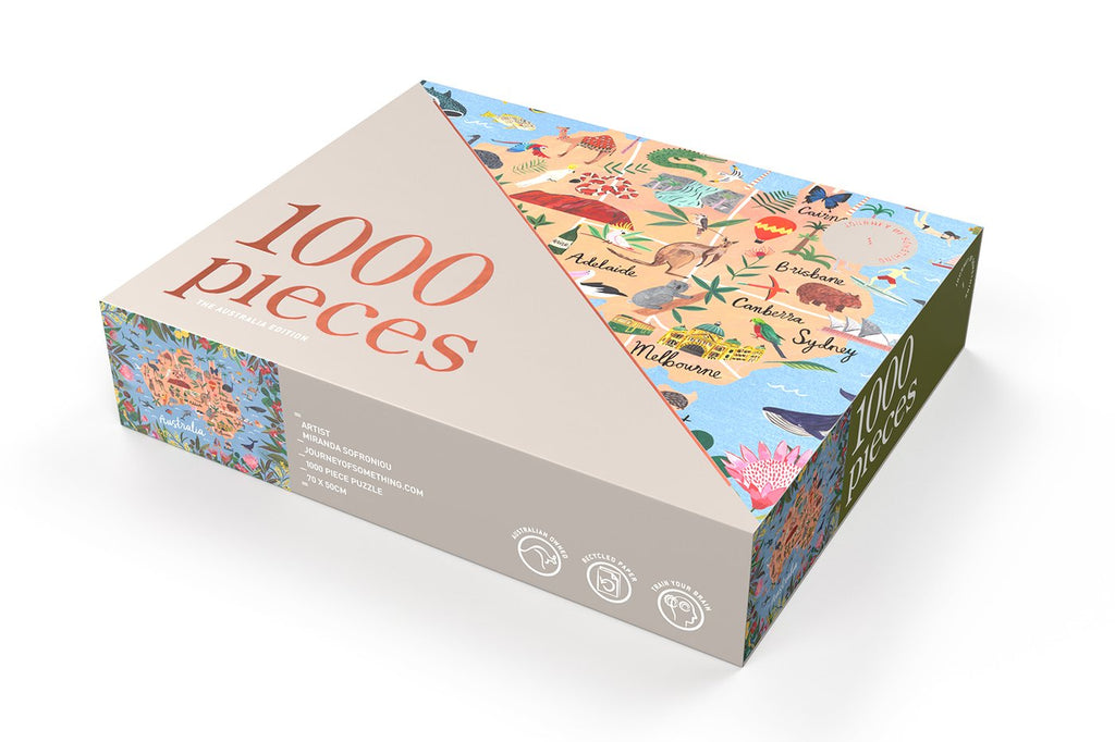 Shop 1000 Piece Puzzle | Australia Edition at Rose St Trading Co