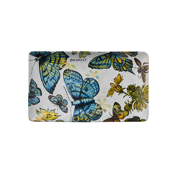 Shop Platter Rectangle - Butterflies at Rose St Trading Co