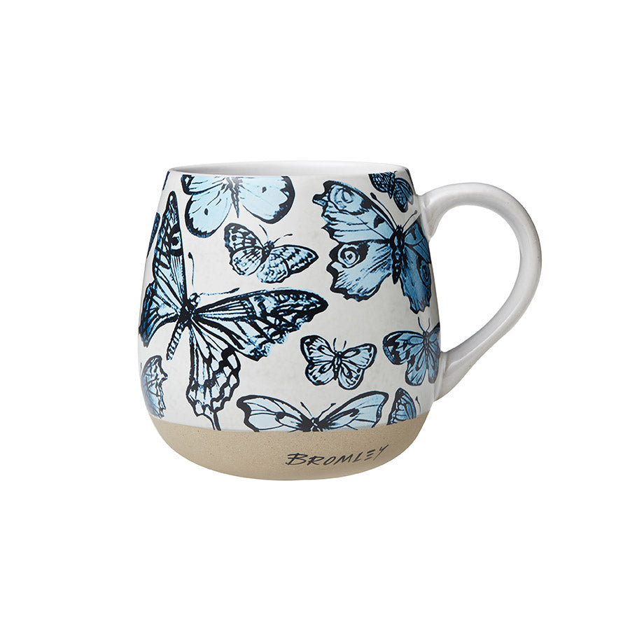 Shop Hug Me Mug - Blue Butterflies at Rose St Trading Co