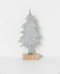 Shop North Pole Standing Tree Silver at Rose St Trading Co