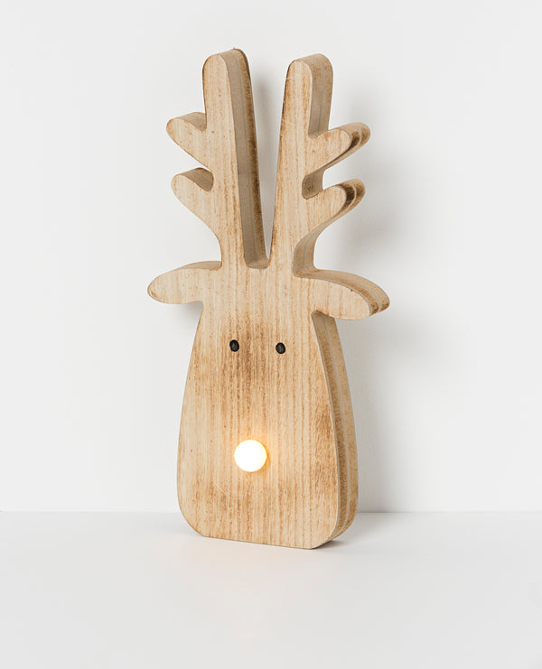 Shop North Pole LED Reindeer | Lge 32cm at Rose St Trading Co