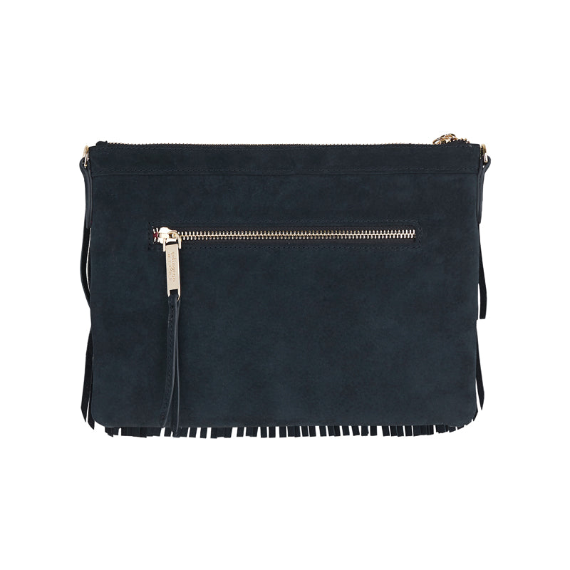 Shop Coco Clutch | Special Edition - Navy Suede at Rose St Trading Co