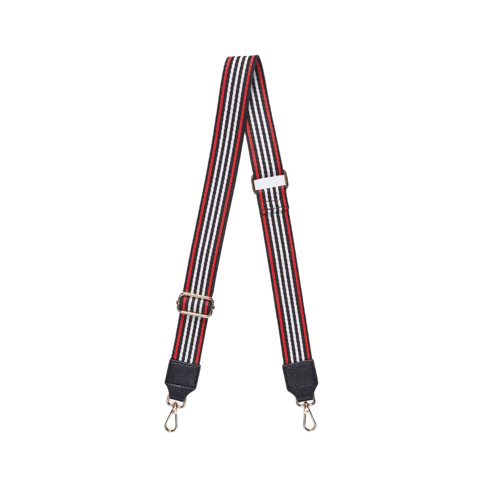 Shop Bag Strap | Black/Red at Rose St Trading Co