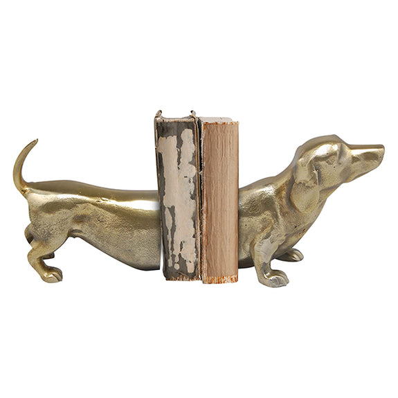 Shop Sausage Dog Book Ends - Brass at Rose St Trading Co