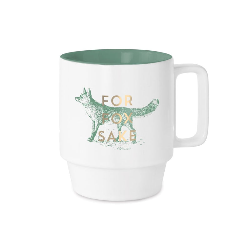 Shop For Fox Sake Mug at Rose St Trading Co