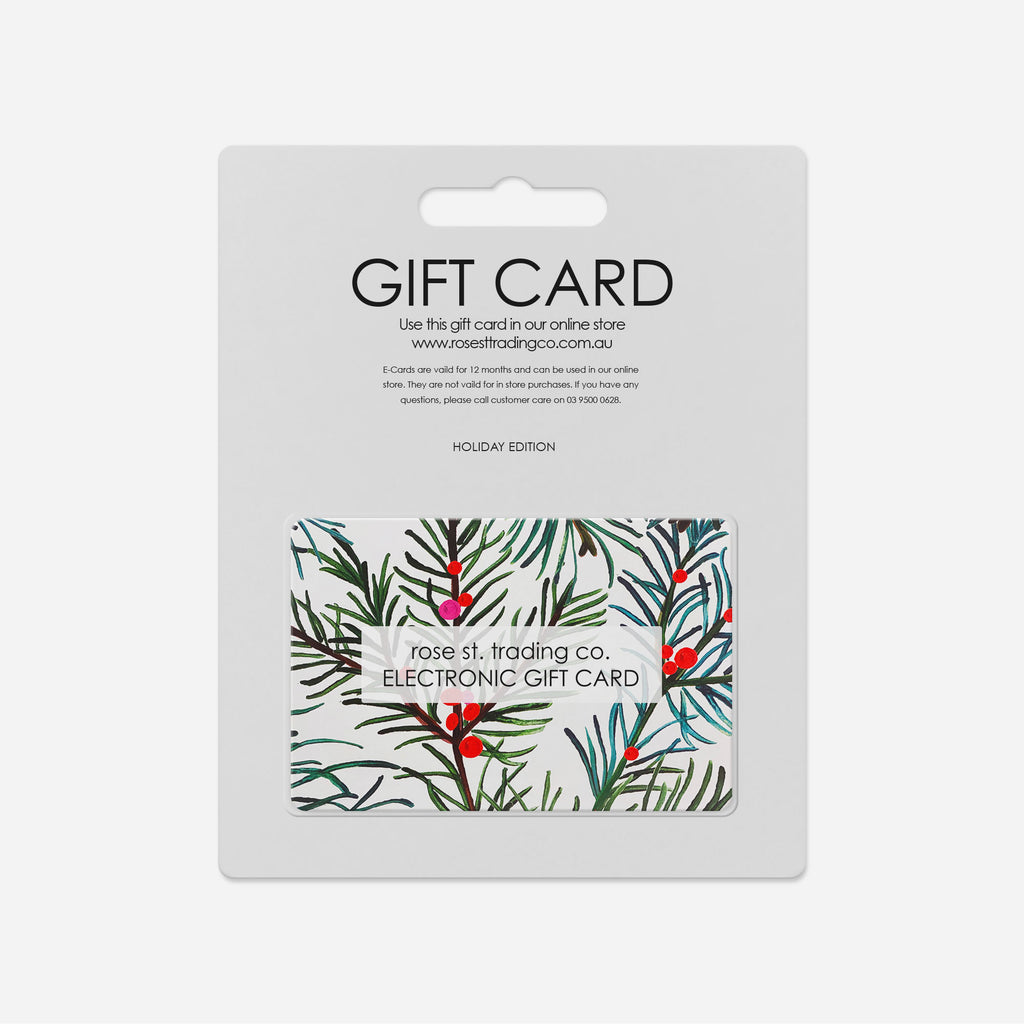 Shop RSTC Online Shopping Christmas Gift Card at Rose St Trading Co