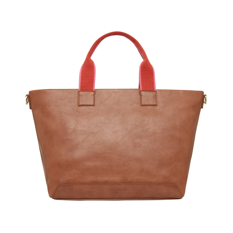 Shop Fairlight Tote | Tan Pebble at Rose St Trading Co